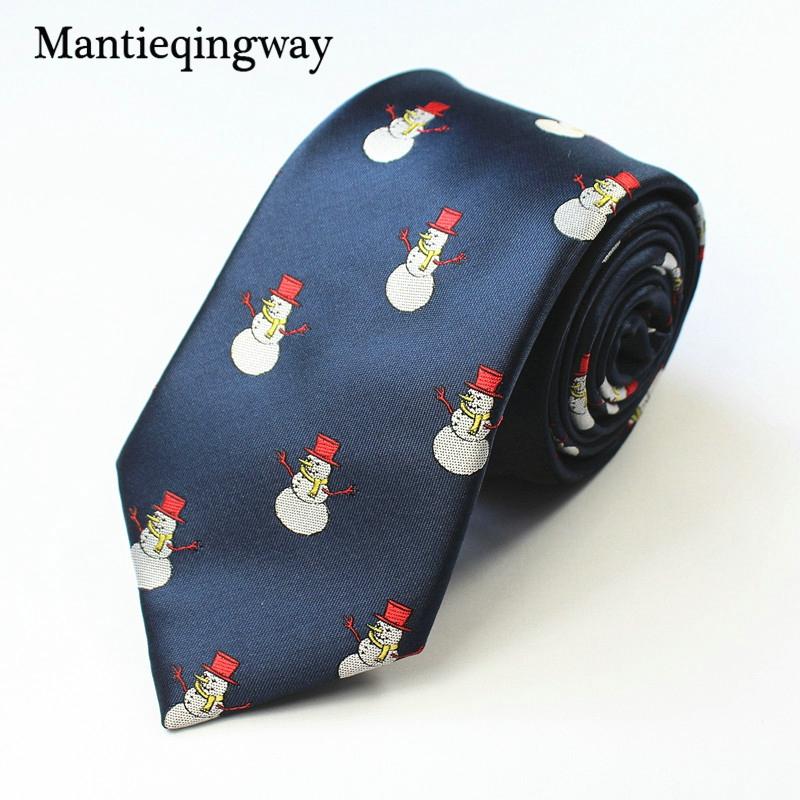 [해외]Mantieqingway Dot & amp; 페이즐리 크리스마스 트리 패턴 타이 자 카드 짠 넥타이 남자 웨딩 정장 비즈니스 10 컬러 Cravata/Mantieqingway Dot & Paisley Christmas Tree Pattern Tie