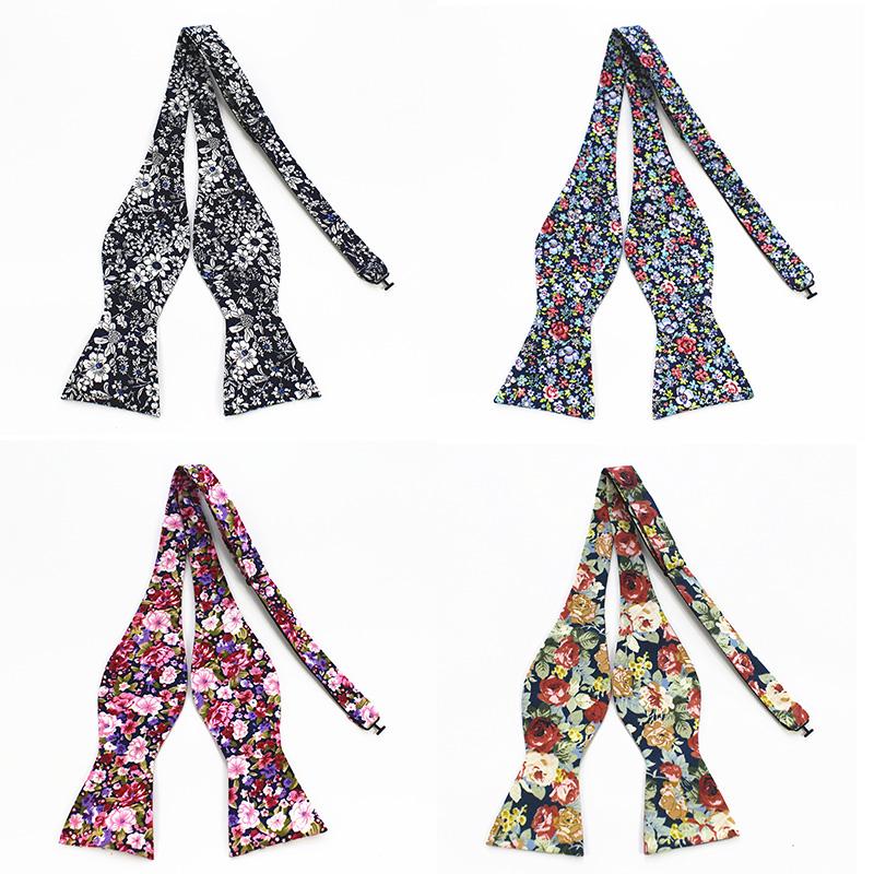 [해외]RBOCOTT 남자 & 셀프 넥타이 보우 타이 100 % 코튼 프린트 셀프 보우 타이 빈티지 플로랄 & 페이즐리 보우 타이/RBOCOTT Men&s Self Tie Bow Ties 100% Cotton Printed Self Bowtie Vinta