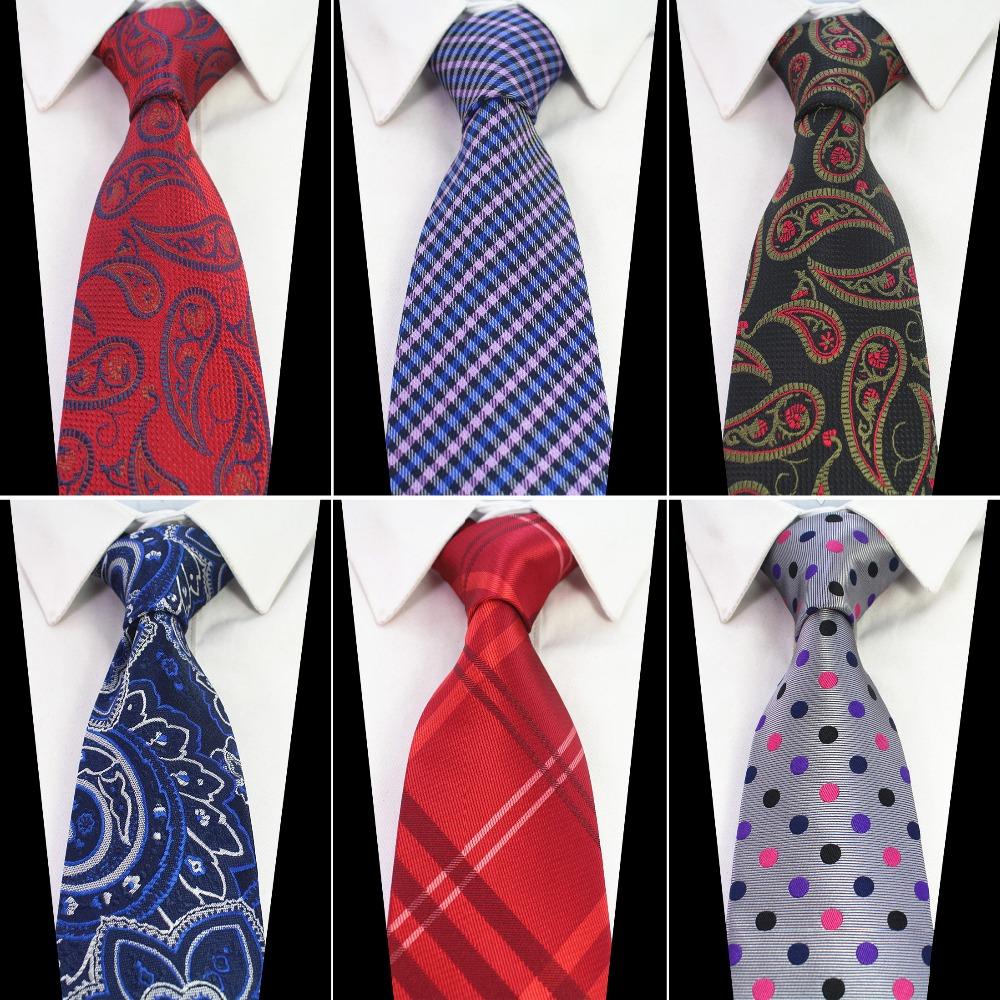 [해외]RBOCOTT 새로운 패션 실크 넥타이 8cm 브라운 페이즐리 남성 넥타이 결혼식 넥타이 블루 플로랄 넥타이 넥타이 웨딩 사업/RBOCOTT New Fashion Silk Tie 8cm Brown Paisley Ties For Men Blue Floral Nec