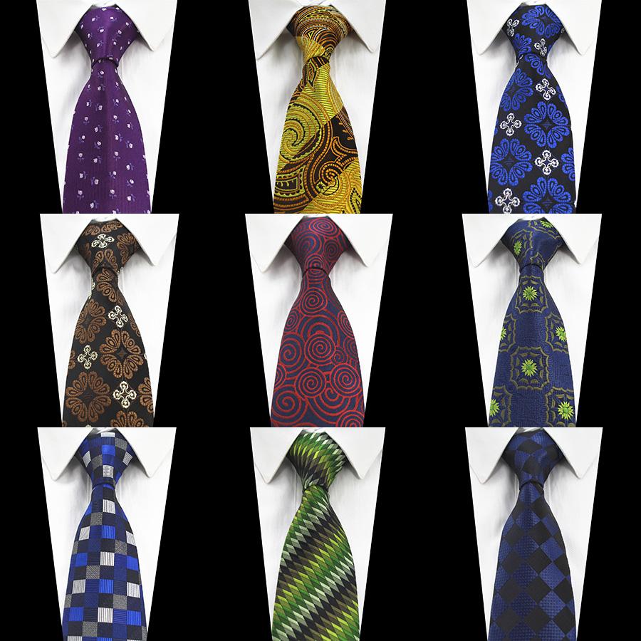 [해외]JEMYGINS 신사복 블루 그린 넥타이 실크 자카드 직물 플라워 페이즐리 넥타이 남성용 Corbatas Hombre 2017 Suit Wedding/JEMYGINS New Designer Blue Green Tie Silk Jacquard weave Flowe