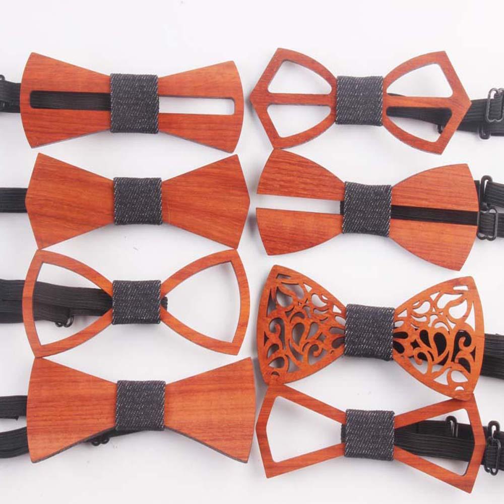 [해외]패션 서양 특별 우드 신사의 나비 넥타이 수제 나비 웨딩 파티 활의 넥타이 나비 나무 독특한 넥타이 남자에 대한/Fashion Western Special Wood Gentleman Bow Ties Handmade Butterfly Wedding Party Bo