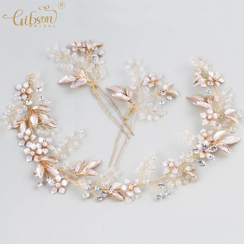[해외]웨딩 장식품 크리스탈 신부 헤어 덩굴과 머리 바비 핀 여성 머리띠 댄스 파티 드레스 보석상 헤드 피스/Wedding Ornaments Crystal Bridal Hair Vine and Hair Bobby Pin Women Headbands Prom Dress