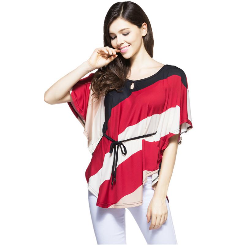 [해외]봄 여름 티셔츠 여성 XXXXL 5XL 플러스 사이즈 펑크 블라우스 Camisetas Leopard Mujer 패션 바디 탑스 티 레이디 캐주얼 티셔츠/Spring Summer T Shirt Women XXXXL 5XL Plus Size Punk Blusas C