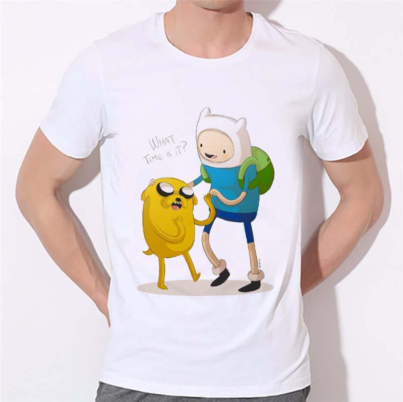 [해외]보디 빌딩 티셔츠 남성 의류 모험 타임 2016 New Fashion Men & s T-shirt 반팔 T 셔츠 W-302/Bodybuilding t shirts Man Clothing Adventure time 2016 New Fashion Men&s