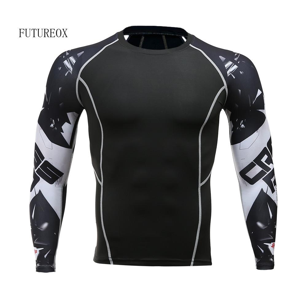 [해외]2017 블랙 독 스파이더 맨 압축 셔츠 남성 피트니스 긴 Retail T 셔츠는 피부 MMA 보디 빌딩 운동 스포츠 탑 가입/2017 Black Venom Spiderman Compression Shirt Men Fitness Long Sleeve T shir