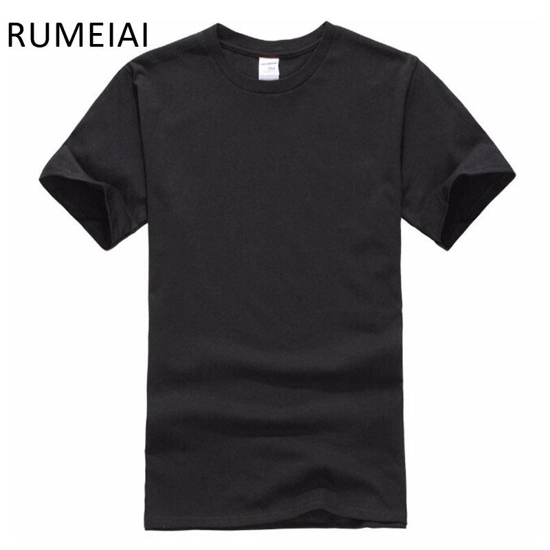 [해외] 신품 무색 T 셔츠 블랙 & 화이트 100 % 코튼 T 셔츠 여름 스케 보 T 셔츠 보이 힙합 T 셔츠 탑스/Free shipping New Solid color T Shirt Mens Black And White 100% cotton T-shirts