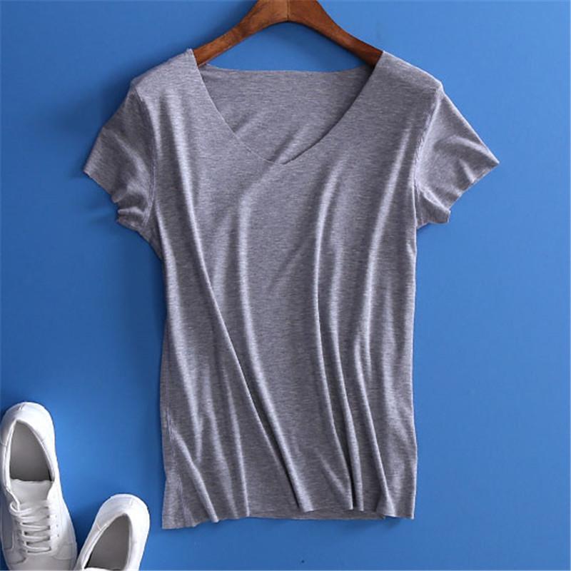 [해외]YUETONGME 2017 유럽 스타일 섹시한 V 목 검은 티셔츠 여성상의 크리스마스 슈어 슬리브 상단 여자 티셔츠 90 & s 자르기 가기 BTL073/YUETONGME 2017 European style sexy V  neck black t-shirt