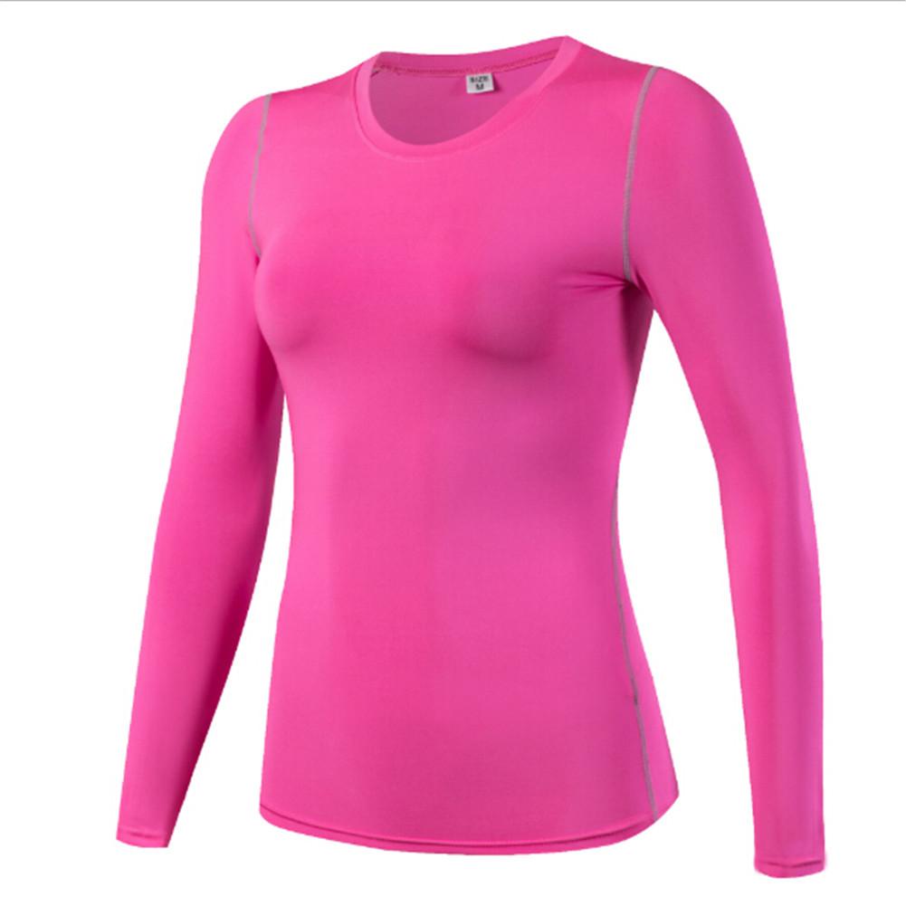 [해외]2019 겨울 여성 조깅가 보디 빌딩 피트니스 긴 Retail 티셔츠 탑스 열 톱 티즈 여성 플러스 사이즈 SXXL/2019 Winter Women Joggers Bodybuilding Fitness Long Sleeve Wicking T-Shirts Tops