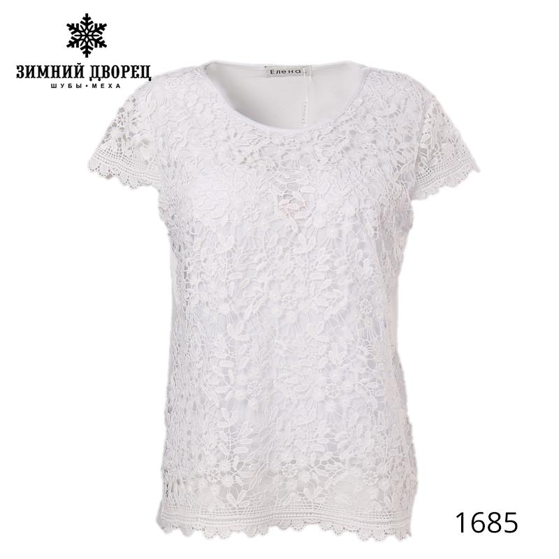 [해외]뜨거운 여름 여성 레이스 패브릭 반팔 티셔츠 솔리드 CASUAL O - 목 티셔츠 여성 대형 여성 의류/Hot SUMMER female lace fabric short sleeve t-shirt Solid CASUAL O-neck t-shirt female la