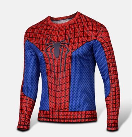 [해외]2016 패션 티셔츠 남성 여성 의류 플러스 사이즈 긴팔 캐주얼 브랜드 Superman Spiderman Venom 캡틴 티 탑스 티셔츠/2016 Fashion T-shirt Men Women Clothing Plus Size Long Sleeve Casual