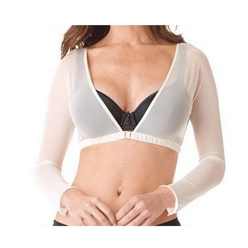 [해외]Naiveroo Womens See-Through 긴 Retail 슬림 암 자르기 탑 Bare Midriff 뷰티 T 셔츠 V 넥 블랙 M XL/Naiveroo Womens See-through Long Sleeve Slim Arm Crop Tops Bare M