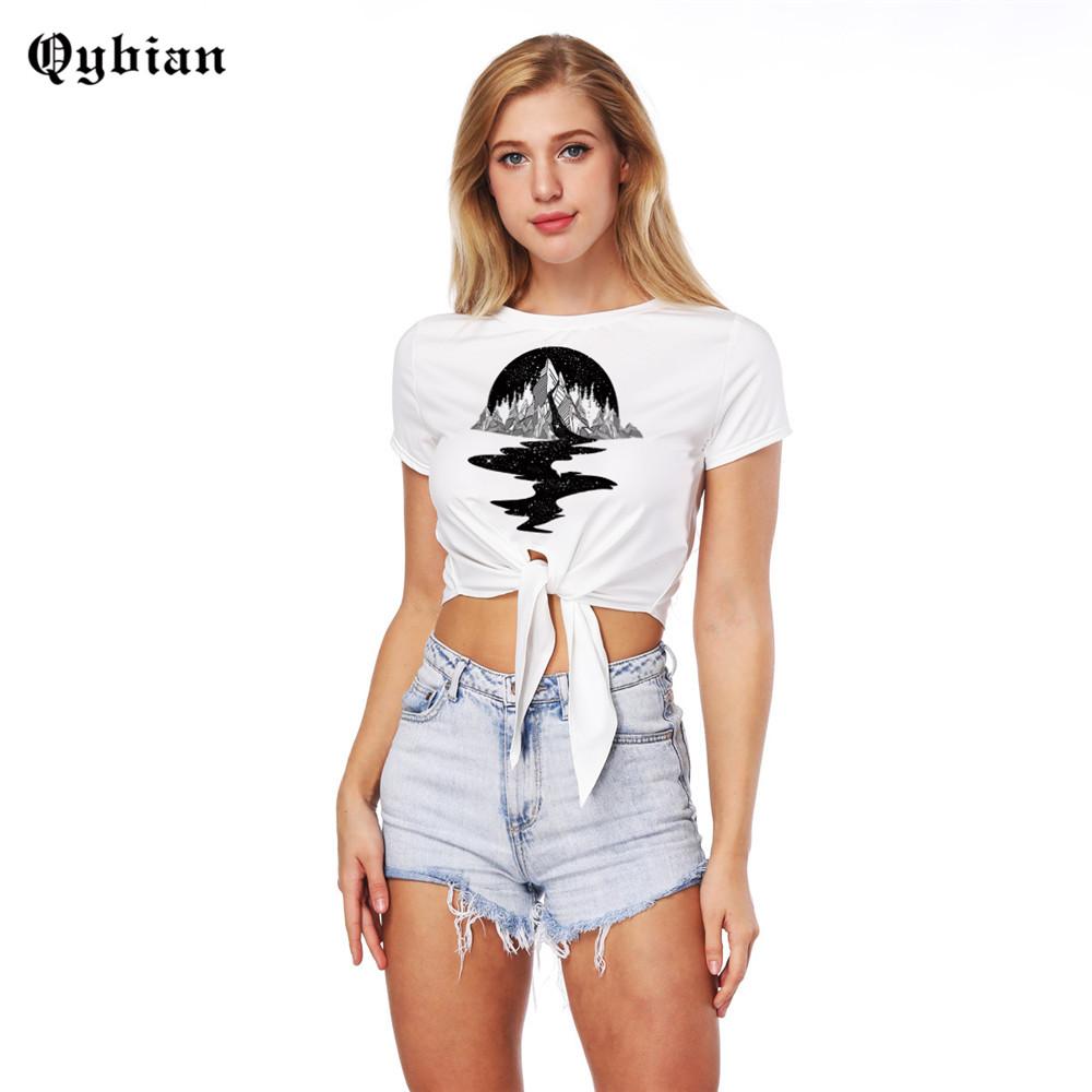 [해외]2018 Summer Womens 자르기 탑스 3 차원 섹시한 여성 탑 Tee Cropped Fitness Ladies T-Shirt 반팔 편안한 셔츠/2018 Summer Womens Crop Tops 3d Printed Sexy Women Top Tee Cr