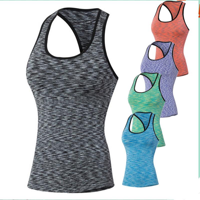 [해외]5001 여성 조깅가 보디 빌딩 피트니스베이스 레이어 언더 탑스 써멀 티 탱크 탑 베스트 카미 캐니스 탱크 사이즈 S-XXL/5001 Women Joggers Bodybuilding Fitness Base Layers Under Tops Thermal Tees