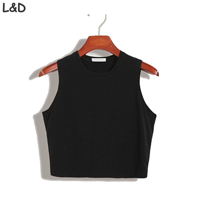 [해외]피트니스 스키니 크롭 탑 2016 새로운 여성 꽉 비스 체 자르기 최고 스키니 T 셔츠 밸리 스포츠 댄스 조끼 탱크 탑 탑/Fitness Skinny Crop Top 2016 New Women Tight Bustier Crop Top Skinny T-Shirt