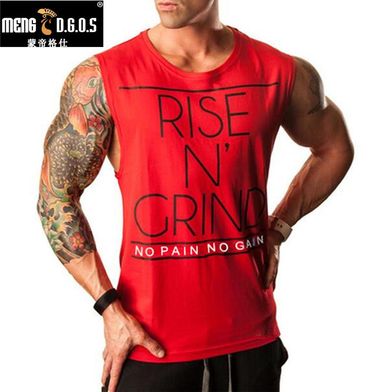 [해외]브랜드 Men & s Muslce 조끼 탱크 탑스 보디 빌딩 헬스 남자 코튼 싱글 상품 플러스 사이즈 오 넥 셔츠 티셔츠 Man Gasp 민Retail 셔츠/Brand Men&s Muslce Vest Tank Tops Bodybuilding Fitness