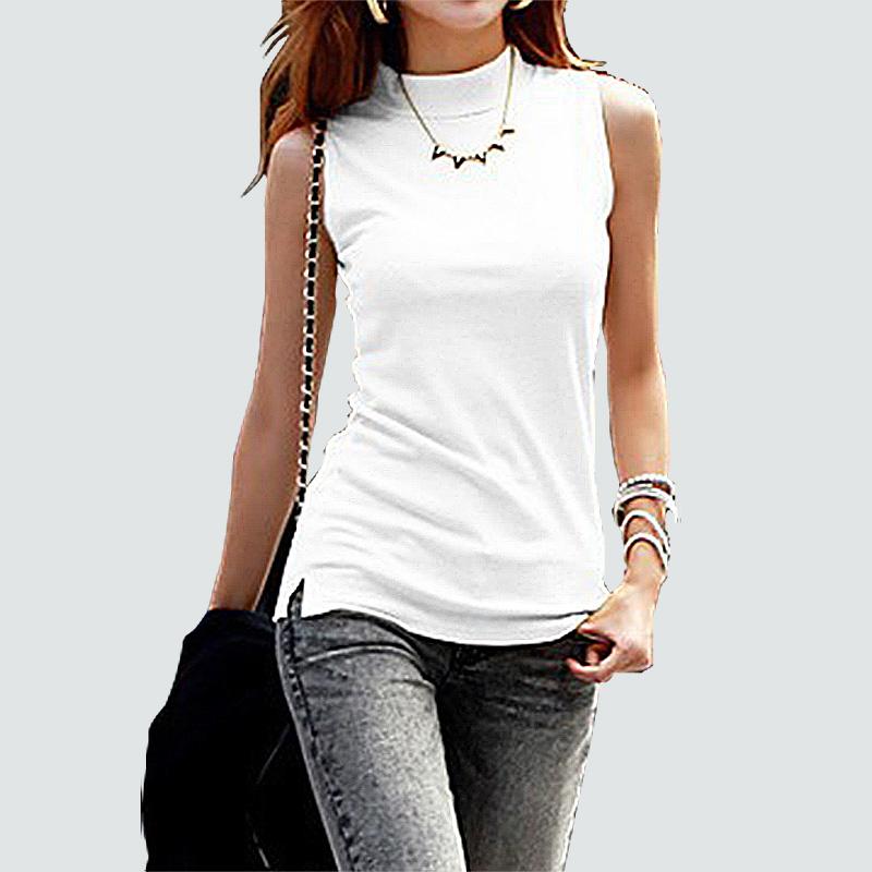 [해외]2016 women 가을 겨울 민Retail 단색 탑 & amp; 티셔츠 코튼 탱크 탑 & amp; Camis 여성 숙녀 베스트 10 색/2016 women autumn winter sleeveless solid color Tops & Te