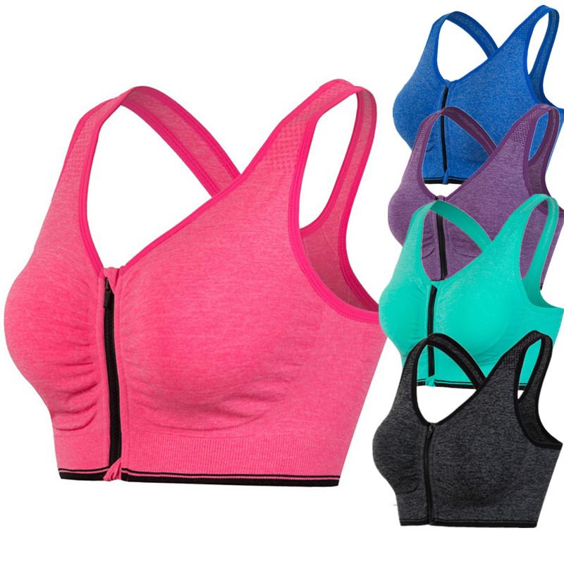 [해외]5009 Women Joggers 보디 빌딩 피트니스 통기성 속옷 밀착 형 솔리드 브라 셔츠 패딩 브라 드라이 작물 탱크 탑/5009  Women Joggers Bodybuilding Fitness Breathable Underwear Push Up Seamle