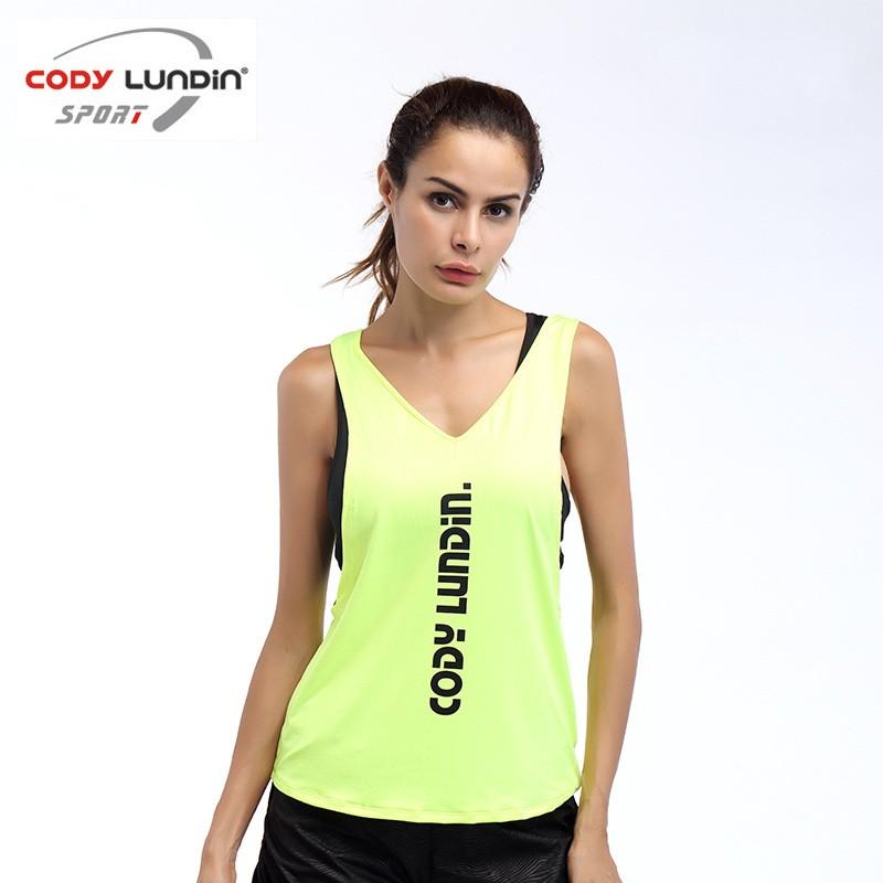 [해외]2017 Codylundin 여름 섹시한 여성 탱크 탑 여성 운동 빠른 느슨한 휘트니스 조끼 운동을단서 여성 운동 T- 셔츠/2017 Codylundin Summer Sexy Women Tank Tops Female Dry Quick Loose Fitness V