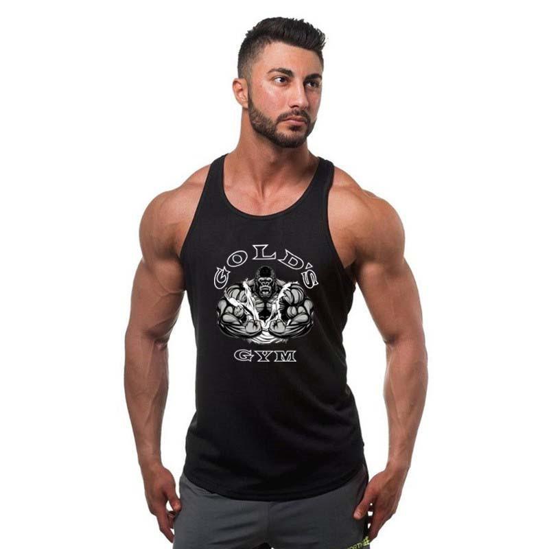 [해외]?패션 브랜드 남자 & s 코튼 O - 넥 탱크 탑 여름 남성 민Retail 조끼 2017 캐주얼 화이트 / 그레이 / 블랙 / 레드 / 블루/ Fashion Brand Men&s Cotton O-Neck Tank Tops Summer Male Sleev