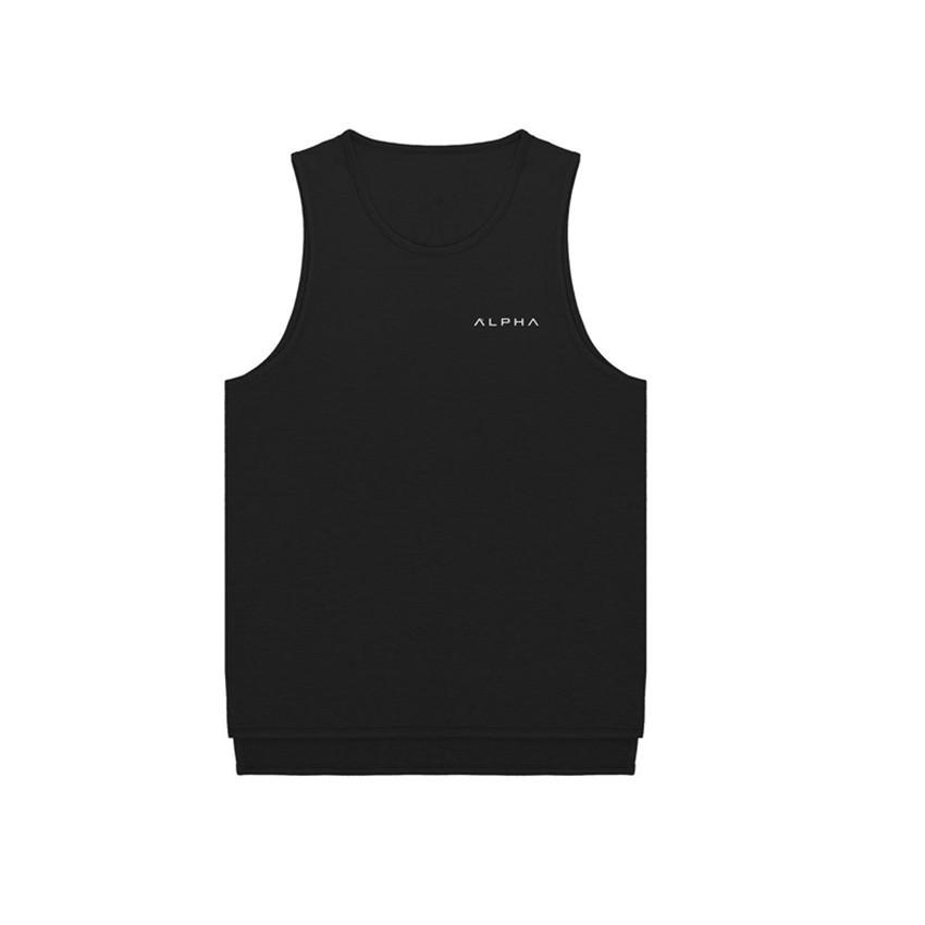 [해외]2018 Summer Men s News Gymnasium 보디 빌딩 민Retail 탱크 탑 패션 브랜드 Men 's 캐주얼 Breathable Cotton Men Tank Top/2018 Summer Men s News Gymnasium Bodybuil