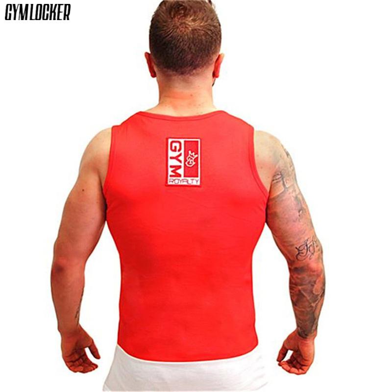 [해외]GYMLOCKER 새로운 망 탱크 탑 스플 라이스 성격 통기성 슬림 피트 gyms 조끼 남성 의류 보디 빌딩 헬스 탱크 탑 망/GYMLOCKER new mens tank tops Splice personality Breathable slim fit gyms ve