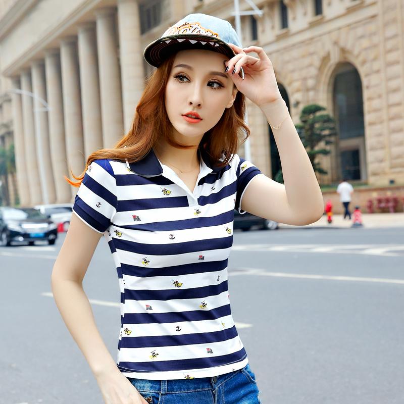 [해외]2016 여름 여성 여성 브랜드 폴로 셔츠면 데이먼 폴로 hemd 폴..