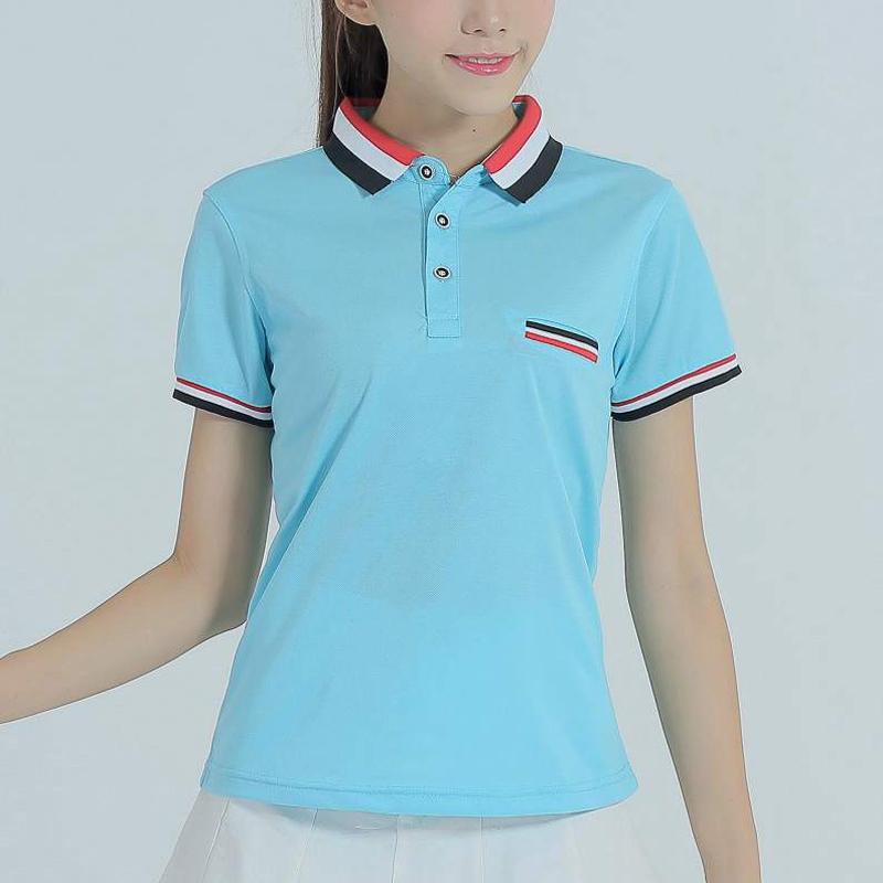 [해외]2016 폴로 팜므 셔츠 코튼 슬림 여성 폴로 셔츠 플러스 사이즈 브랜드 빠른 건조 패치 워크 폴로 여성 Camiseta 탑/2016  Polo Femme Shirt Cotton Slim Womens Polo Shirt Plus Size Brand Quick D