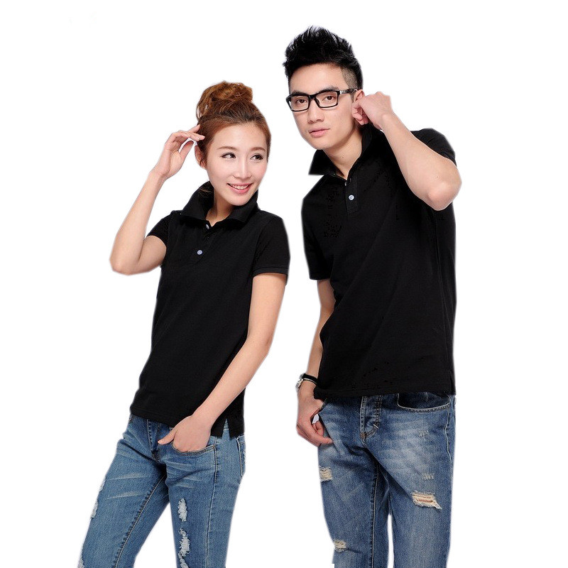 [해외]10pcs / lot 핫 세일 모든 크기 순수한 색상 캐주얼 폴로 셔츠 단색 폴로 셔츠 브랜드 폴로 셔츠 면화 짧은 Retail/10pcs/lot Hot selling all Size Pure Color Casual polo shirt Women Solid po