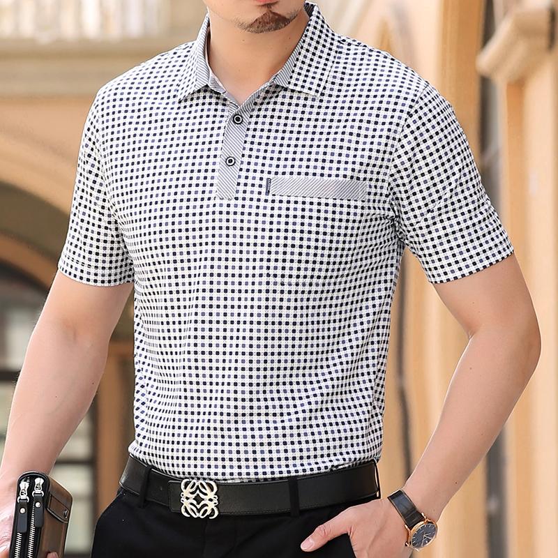 [해외]Thoshine 브랜드 남자 코튼 폴로스 남성 ??폴로 셔츠 슈 피리 어 캐미사 턴 다운 칼라 탑 성인 여름 쿨 의류 플러스 사이즈 4XL/Thoshine Brand Men Cotton Polos Male Polo Shirts Superior Camisa Tur