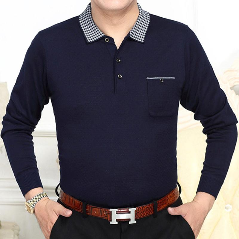 [해외]2017 새로운 브랜드 긴 Retail 피트 니스 폴로 셔츠 남자 캐미어 masculino 캐주얼 격자 무늬 폴로 셔츠 망 poloshirt 의류 저지 8662/2017 new brand long sleeve fitness polo shirt men camisa