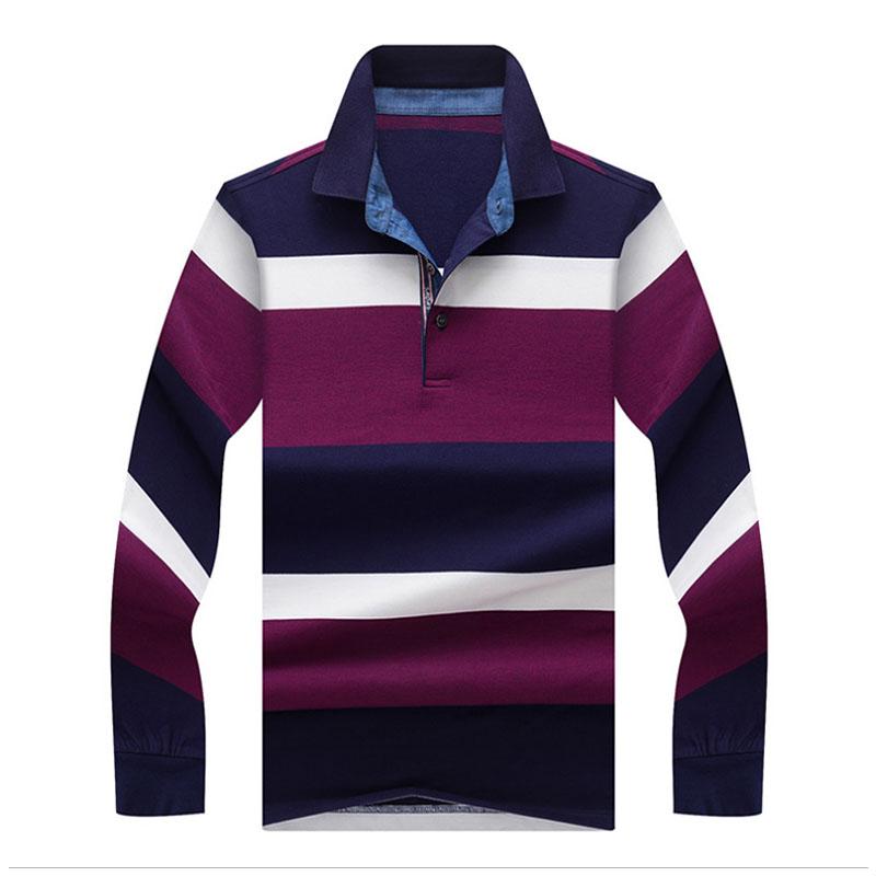 [해외]JUNGLE ZONE 2017 탑 & 티셔츠 남성 & 폴로 셔츠 패션 스타일 겨울 스트라이프 컬러 긴 Retail 폴로 셔츠 남성 폴로 솔리드 폴로 셔츠/JUNGLE ZONE 2017 Tops&Tees Men&s Polo Shirts fas