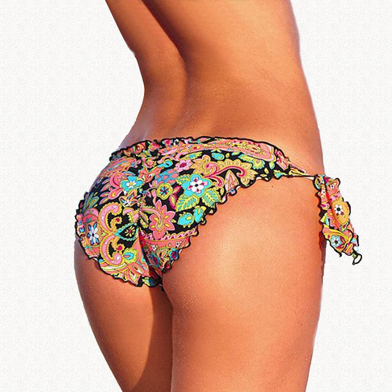 [해외]믹서 비키니 하의 새로운 2016 수영복 여성 비키니 바닥 빈티지 수영복 활 브랜드 브라질 Biquini Bikiny 수영복/Mixer Bikini Bottoms New 2016 Swimsuit  Women  Bikinis Bottom Vintage Swimwe