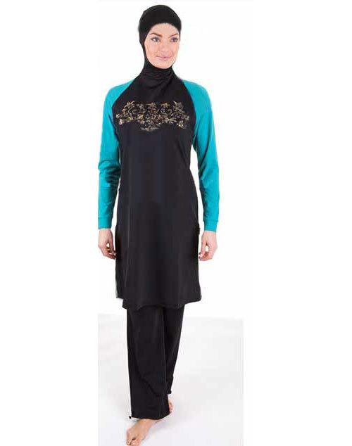 [해외]2015 새로운 패션 여성 이슬람 수영복 이슬람 수영복 플러스 크기의 일반 수영복/2015 New fashion women muslim swimwear islamic swimsuit plus size Plain swimsuit