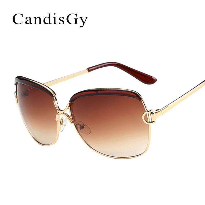 [해외]패션 빅 포토 크로 믹 선글라스 여성 브랜드 Desinger 금속 프레임 레이디 여성 우아한 그늘 태양 안경 Oculos de sol/Fashion Big Photochromic Sunglasses Women Brand Desinger  Metal Frame L