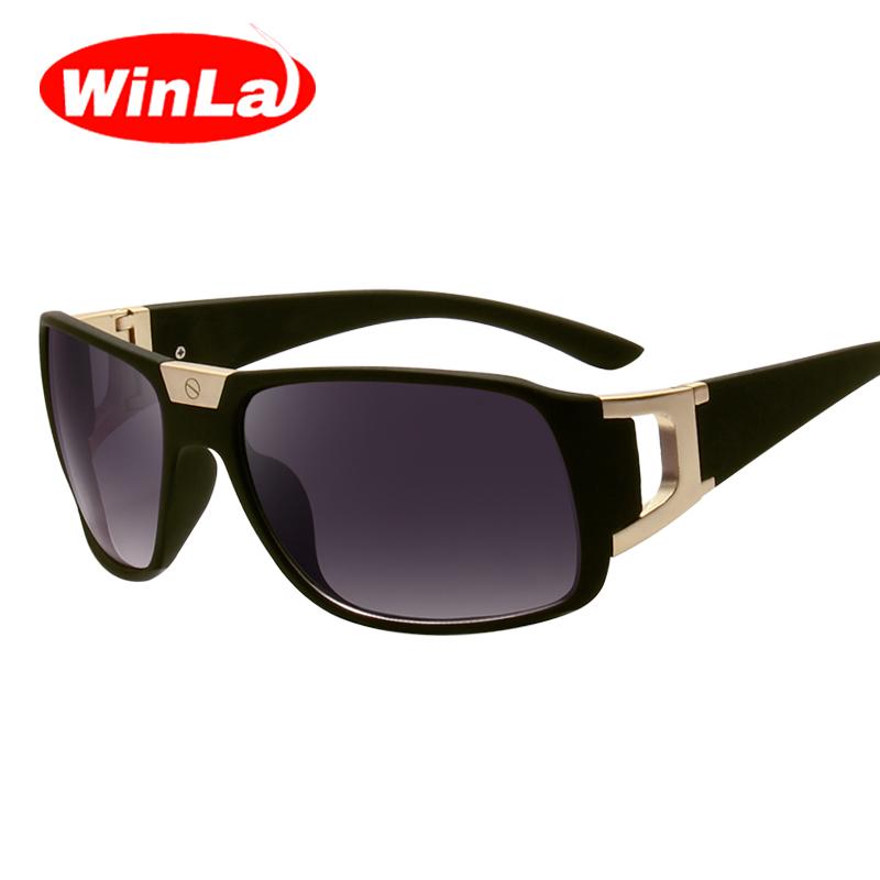 [해외]Winla 선글라스 남자 여자 브랜드 디자이너 스퀘어 색안경 그라데이션 렌즈 여름 스타일 안경 UV400 Oculos De Sol Masculino/Winla Sunglasses Men Women Brand Designer Square Sun glasses Gr