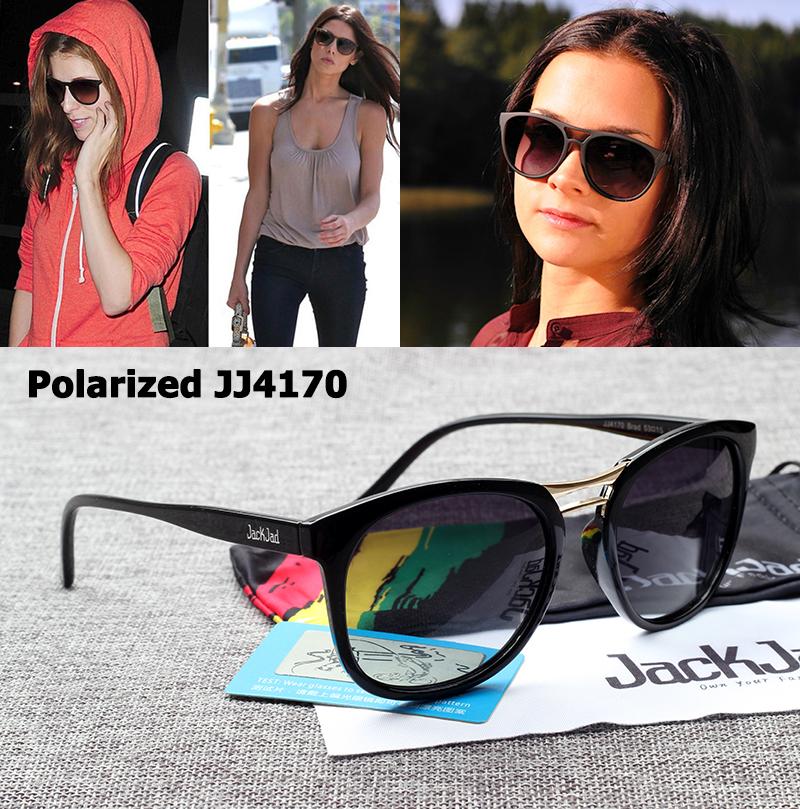 [해외]JackJad 패션 여성 JJ4170 Brad Polarized Gradient Sunglasses 새로운 브랜드 디자인 타원형 태양 안경 Oculos De Sol Feminino/JackJad Fashion Women JJ4170 Brad Polarized G