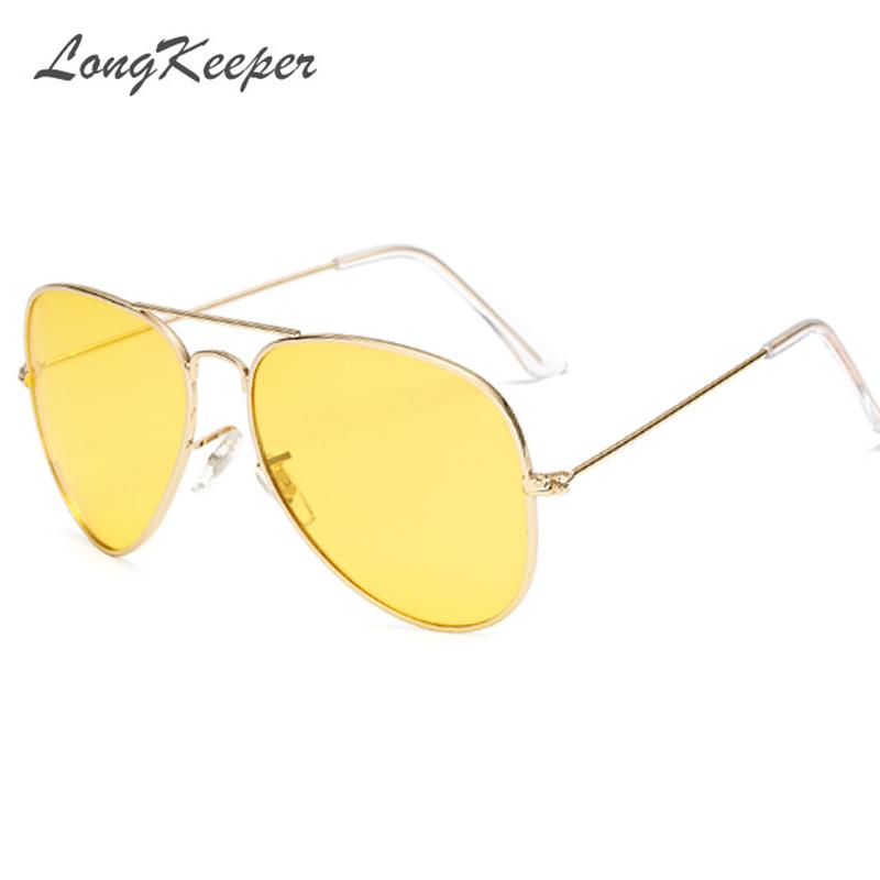 [해외]LongKeeper Lovers Polarized Day & amp; 나이트 비전 안경 옐로우 렌즈 운전 선글라스 남성 브랜드 디자이너 개구리 고글 안경/LongKeeper Lovers Polarized Day & Night Vision Glass