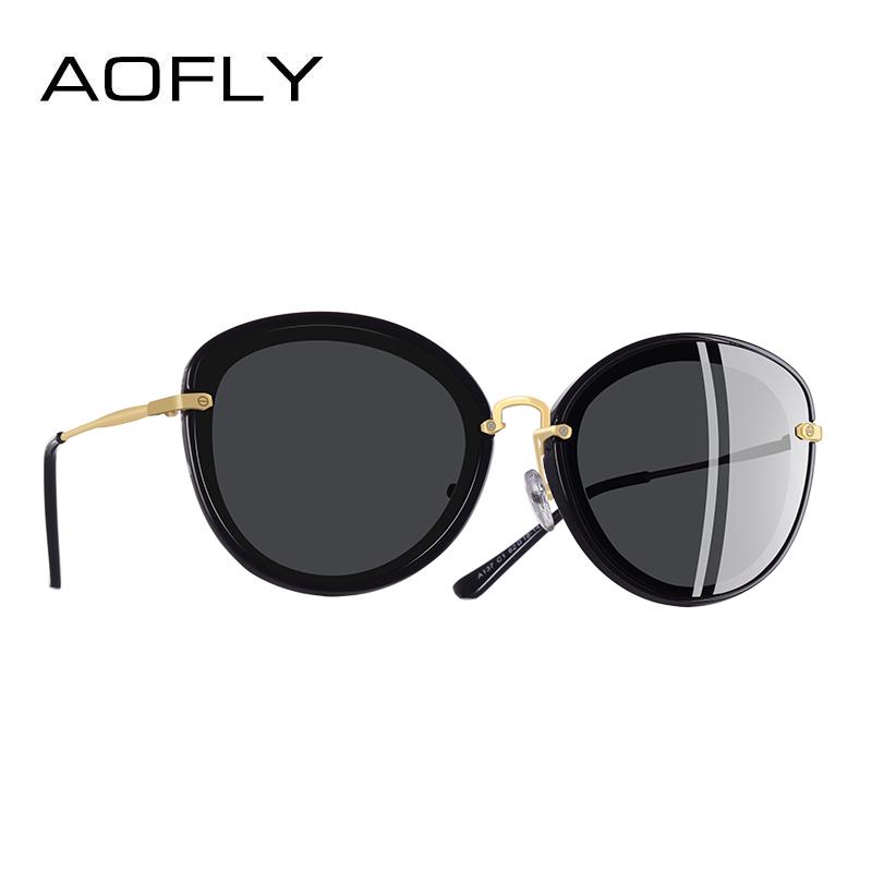 [해외]AOFLY BRAND DESIGN 패션 숙녀 고양이 눈 선글라스 금속 다리 편광 선글라스 여성 Oculos Gafas A137/AOFLY BRAND DESIGN Fashion Ladies Cat Eye Sunglasses Metal Legs Polarized S