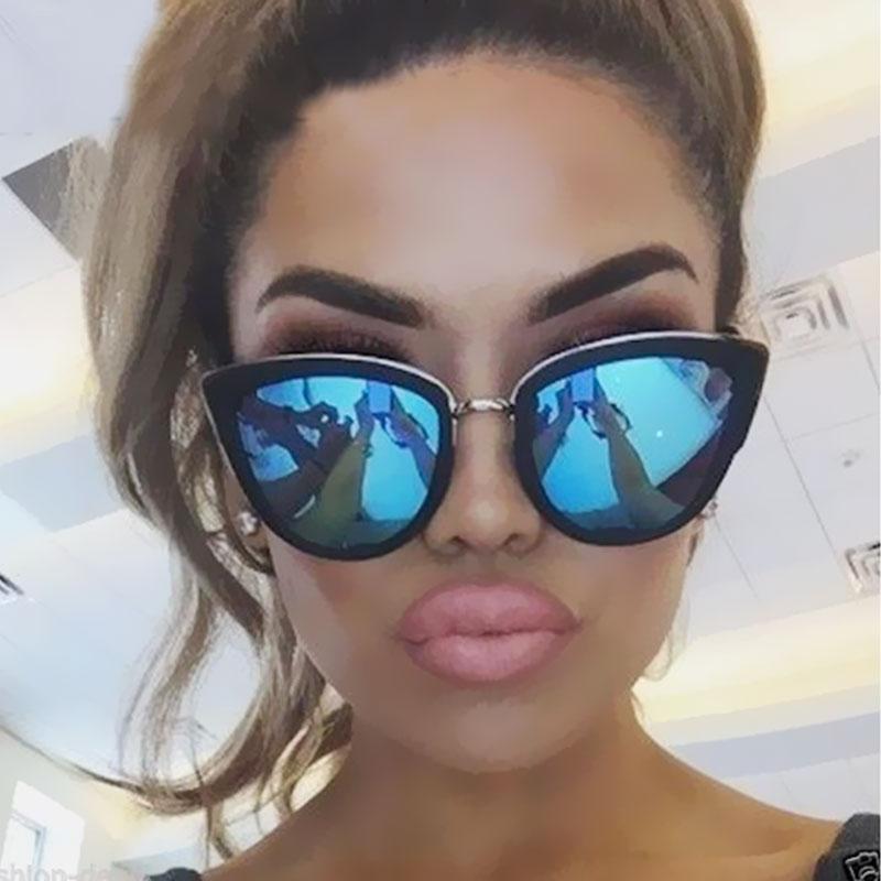 [해외]2018 새로운 스타일 고양이 눈 여성 선글라스 남자 여름 빈티지 UV400 패션 레이디 태양 안경을 설계/2018 New Style Cat Eye Women Sunglasses Summer For Men  Vintage Designed UV400   Fashi