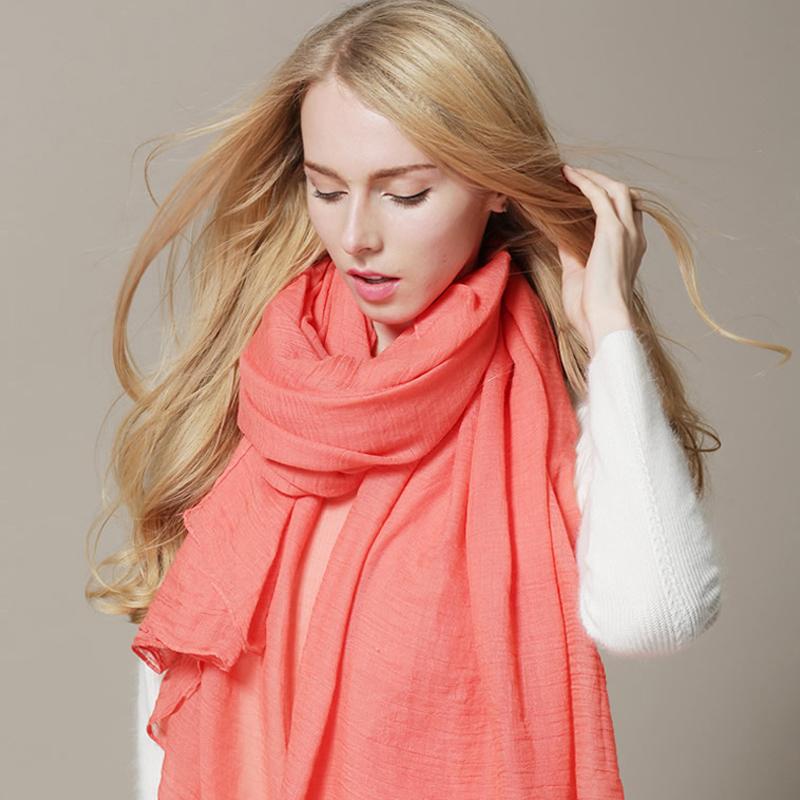 [해외]가을 2016 스카프 여성 드레스 스카프 겨울 따뜻한면은 단색 의류 액세서리를 랩/Autumn 2016 New Arrival Scarf Women Dress Scarves Winter Warm Cotton Wraps Solid Colors Apparel Acce