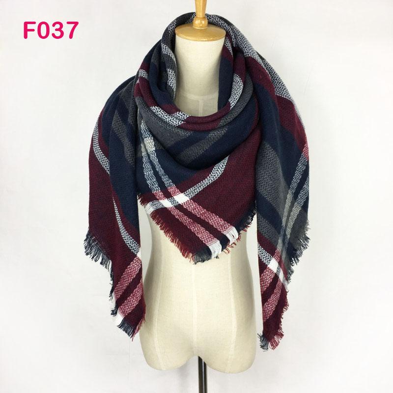 [해외]ZA 디자인 겨울 파시미나 소프트 섬유 광장 격자 무늬 담요 스카프 여성 타탄 캐시미어 랩 목도리 넥 워머 140 X 140cm/Za Design Winter Pashmina Soft Textile Square Plaid Blanket Scarf Women Ta