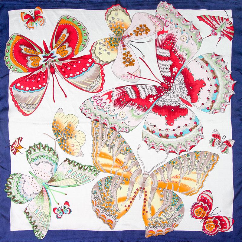[해외]100 % 실크 스카프 여성 스카프 나비 Neckerchief 스카프 실크 두건 2017 Hot Foulard 작은 정사각형 실크 스카프 숙녀를좋은 선물/100% Silk Scarf Women Scarf Butterfly Neckerchief Scarf Silk