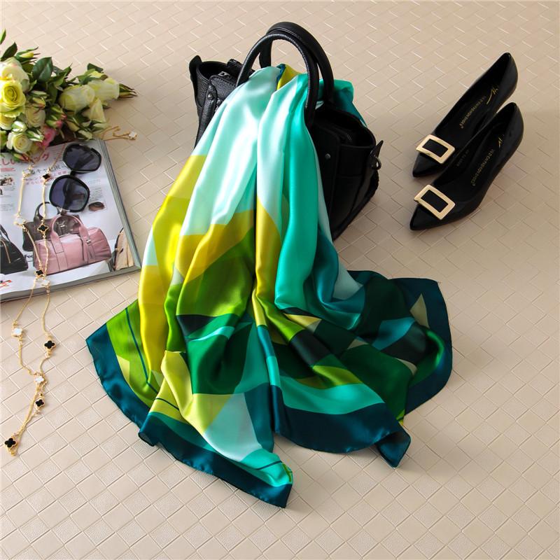 [해외][Peacesky] 2016 패션 두건 럭셔리 스카프 스카프 여자 브랜드 실크 스카프 Women Shawl Print hijab/[Peacesky] 2016 Fashion bandana Luxury Plaid Scarve Woman Brand Silk Scarf