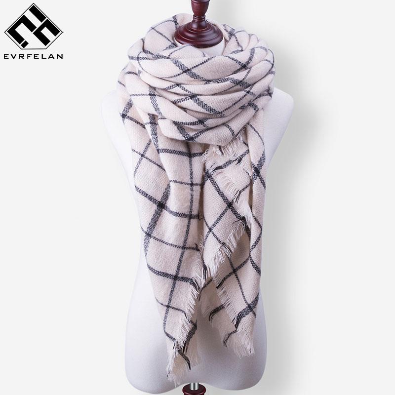 [해외]새로운 패션 겨울 스카프 럭셔리 브랜드 숙녀 스카프 여성을따뜻한 숄 스카프 여성 트라이앵글 두건 핑/New Fashion Winter Scarf Luxury Brand Ladies Scarves Wraps Women  Warm Shawls Scarf For Wo