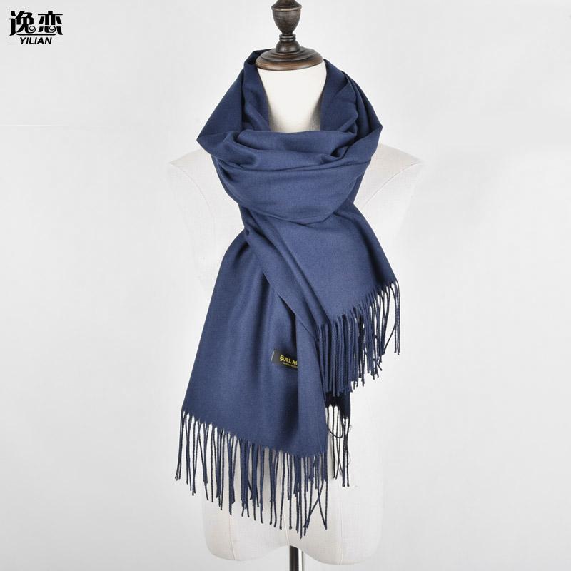 [해외]YI LIAN 새로운 패션 숙녀 스카프 캐시미어 단단한 술 편안하고 우아한 Neckerchief 4Color XP004 길들인/YI LIAN New Fashion Lady Scarves Cashmere Solid Tassel Comfortable And Eleg