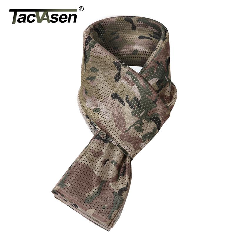 [해외]TACVASEN 위장 스카프 남자 밀리터리 전술 스카프 패션 디자이너 Shawls Wargame 스카프 Hunt Combat Kerchief TD-WHFE-017/TACVASEN Camouflage Scarf Men Military Tactical Scarves