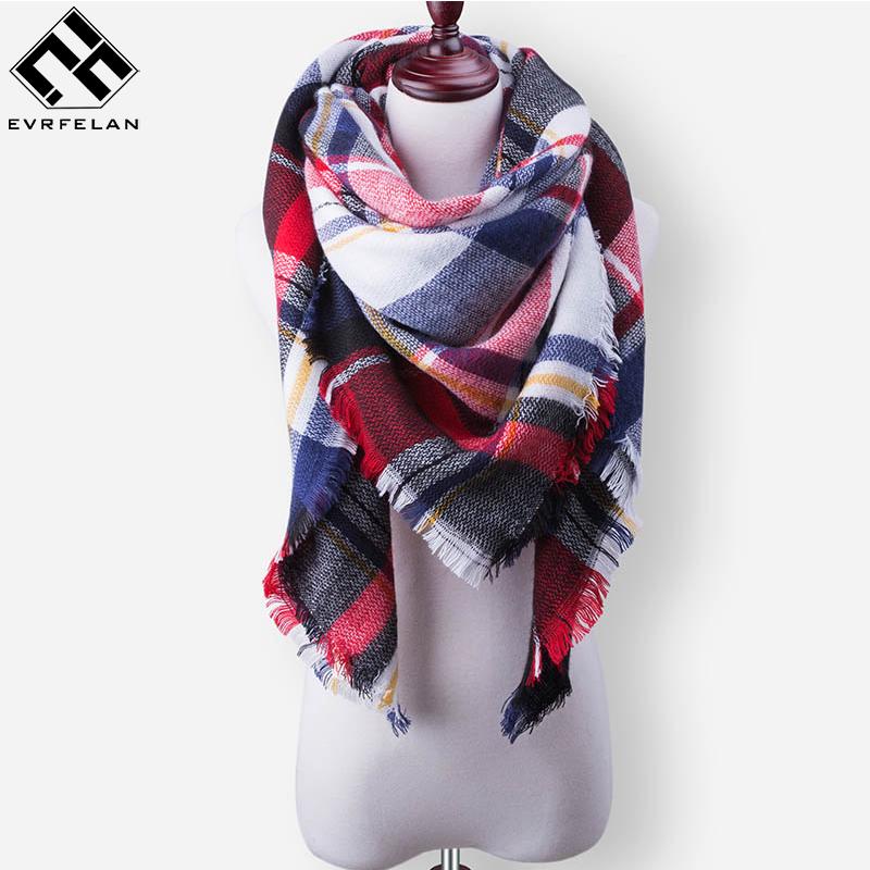 [해외]2017 새로운 겨울 스카프 여자 타탄 스카프 여자 & S 격자 무늬 담요 스카프 기본 숄 가을 겨울 워프/2017 New Winter Scarf For Women Tartan Scarf Women&S Plaid Blanket Scarf Basic Sha