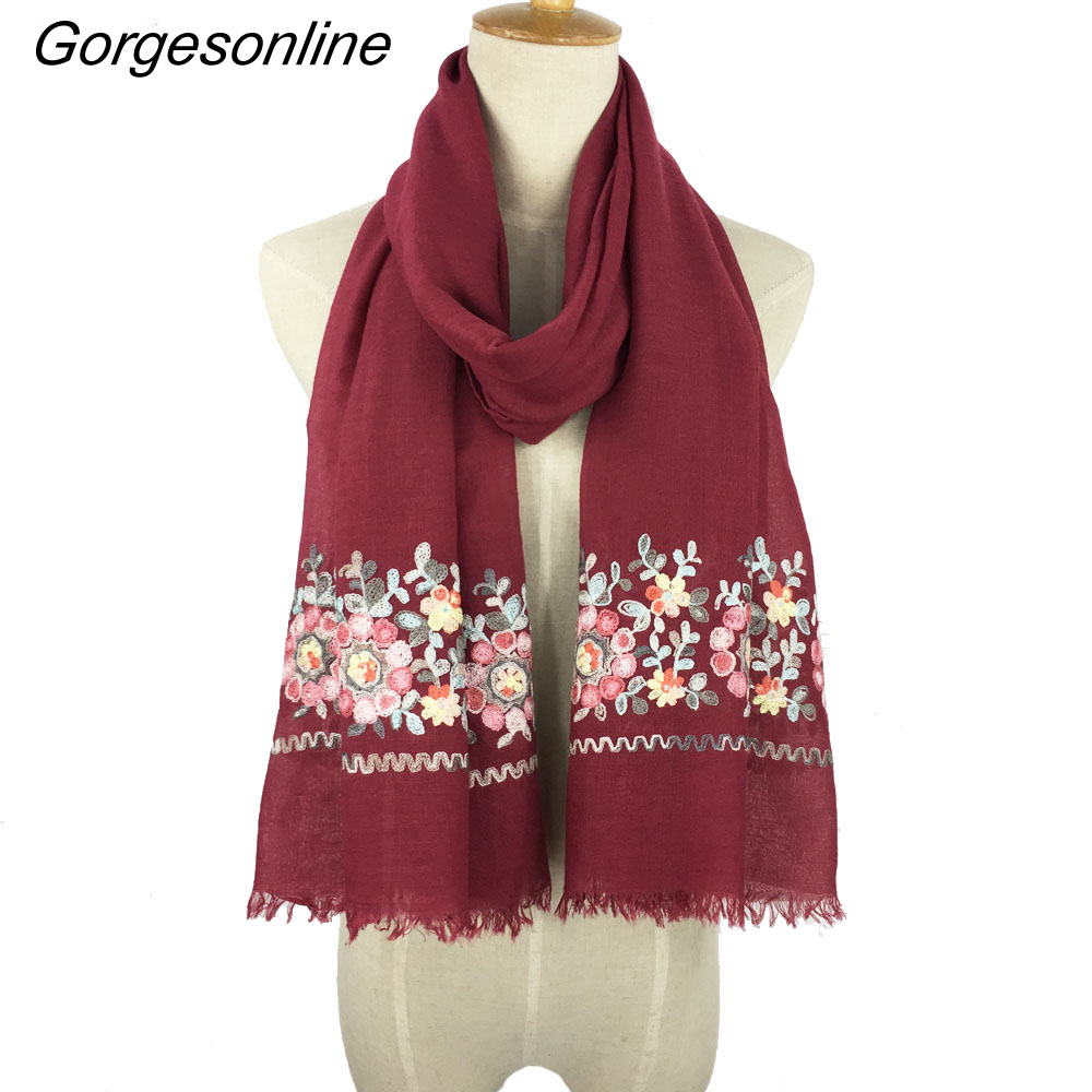 [해외]새로운 디자인 핫 판매 숙녀 TR 코 튼 paisley 여성 스카프 포장 목도리 자 수 스카프 여성과 소녀 스카프/New design hot selling ladies TR cotton paisley women scarf wrap shawl embroidered