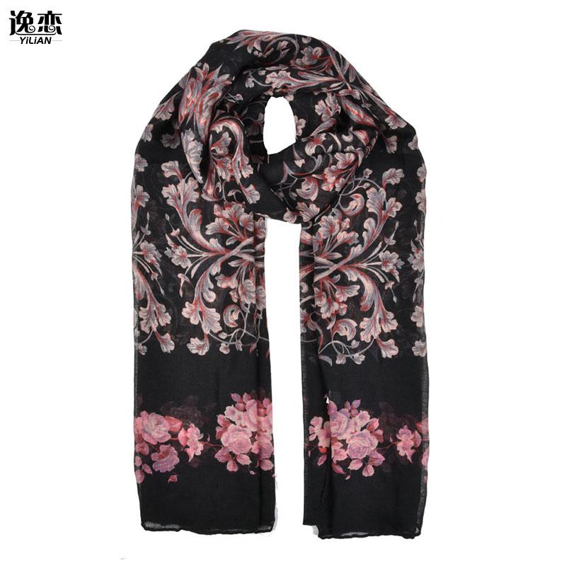 [해외]YI LIAN 여성을패션 디자인 인쇄 장미 패턴 길고 얇은 스카프 SF871/YI LIAN New Arrival Fashion Design For Women Printed Rose Pattern Long and Thin Scarves SF871