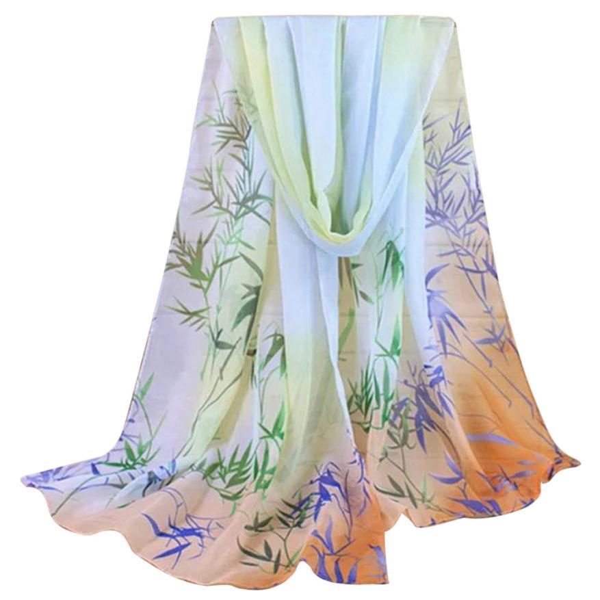 [해외]가져온 된  아름 다운 저렴 한 패션 숙 녀 여성 꽃 인쇄 숄시 폰 스카프 ponchos capes foulard soie beach sarongs/Imported China Beautiful cheap Fashion Lady Women Floral Prints